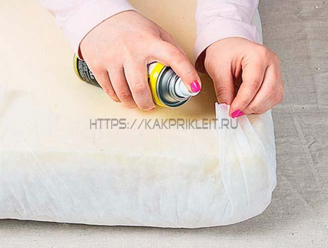 Аэрозольный клей для ткани
