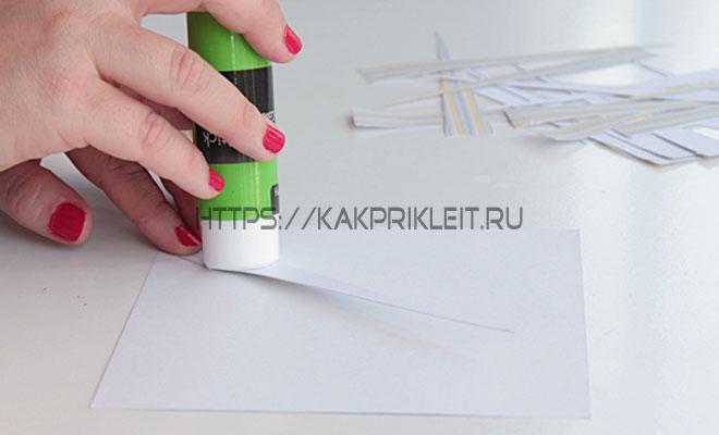 Чем приклеить бумагу к бумаге