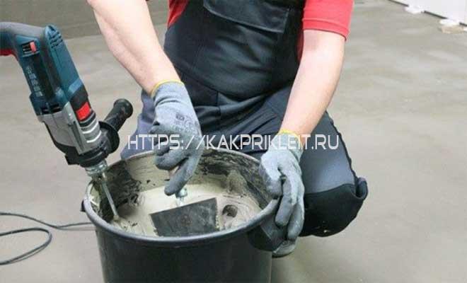 Как сделать плиточный клей