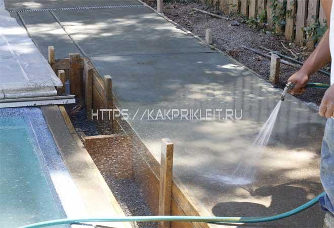 Сколько бетон набирает прочность