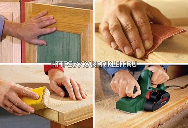 Как обезжиривать древесину и фанеру